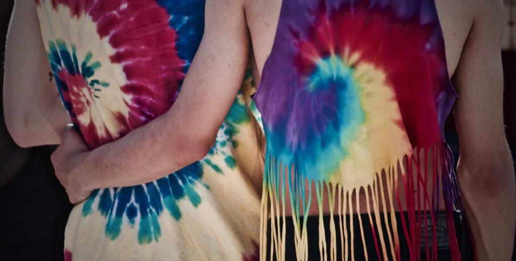 hippie tie dye