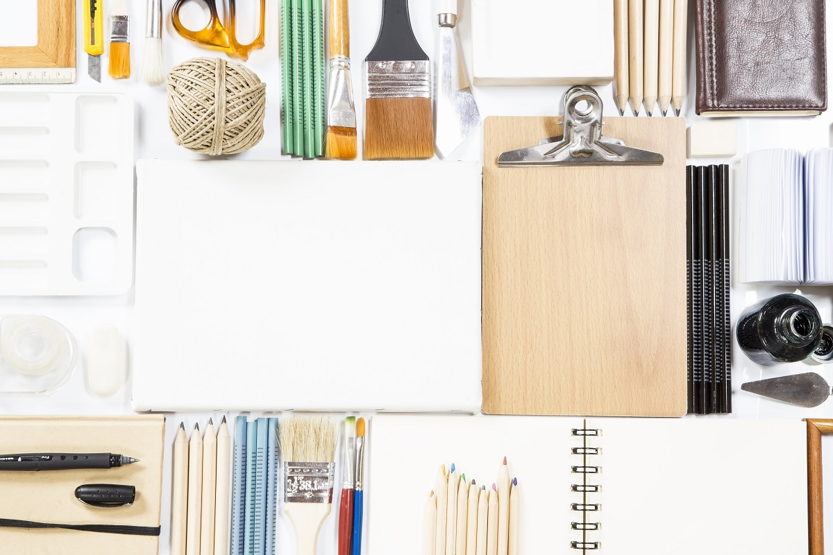 Paper and art supplies