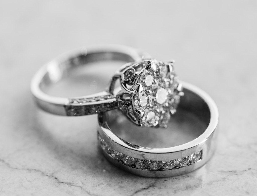 Close up of jewelry shot