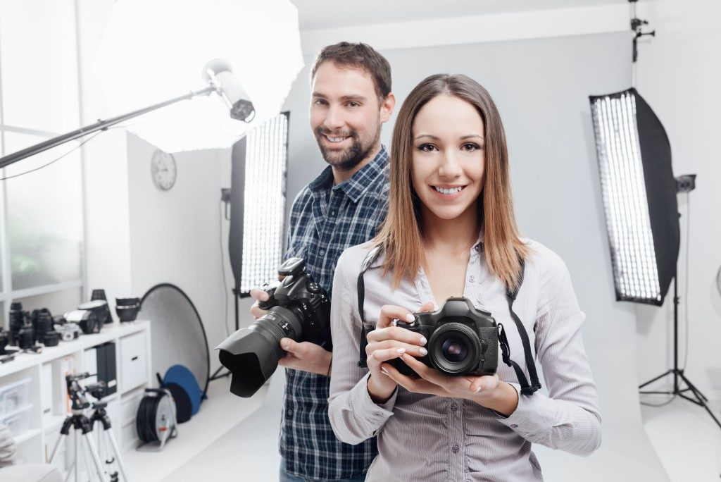 photographers at the studio