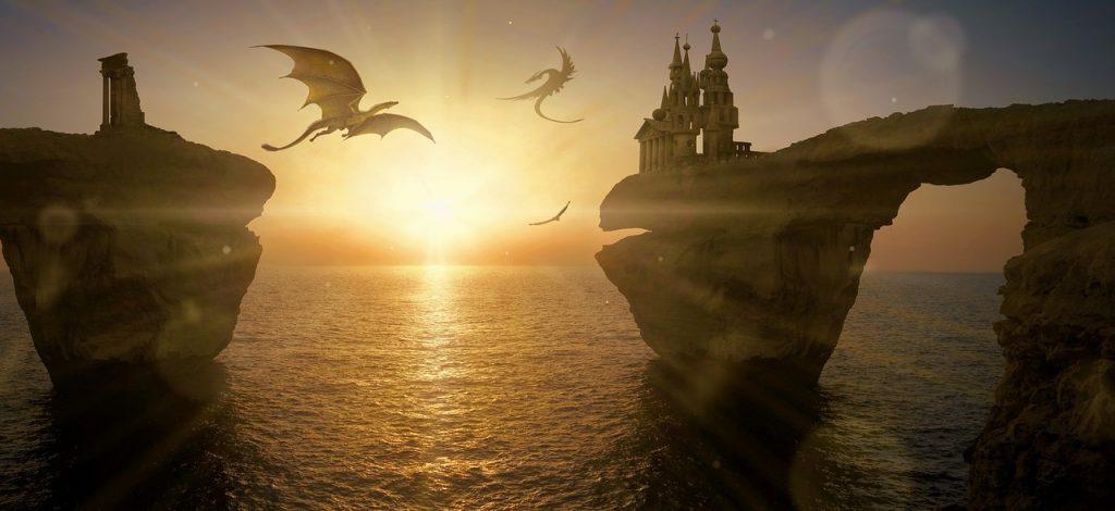 dragons-flying-around-islands