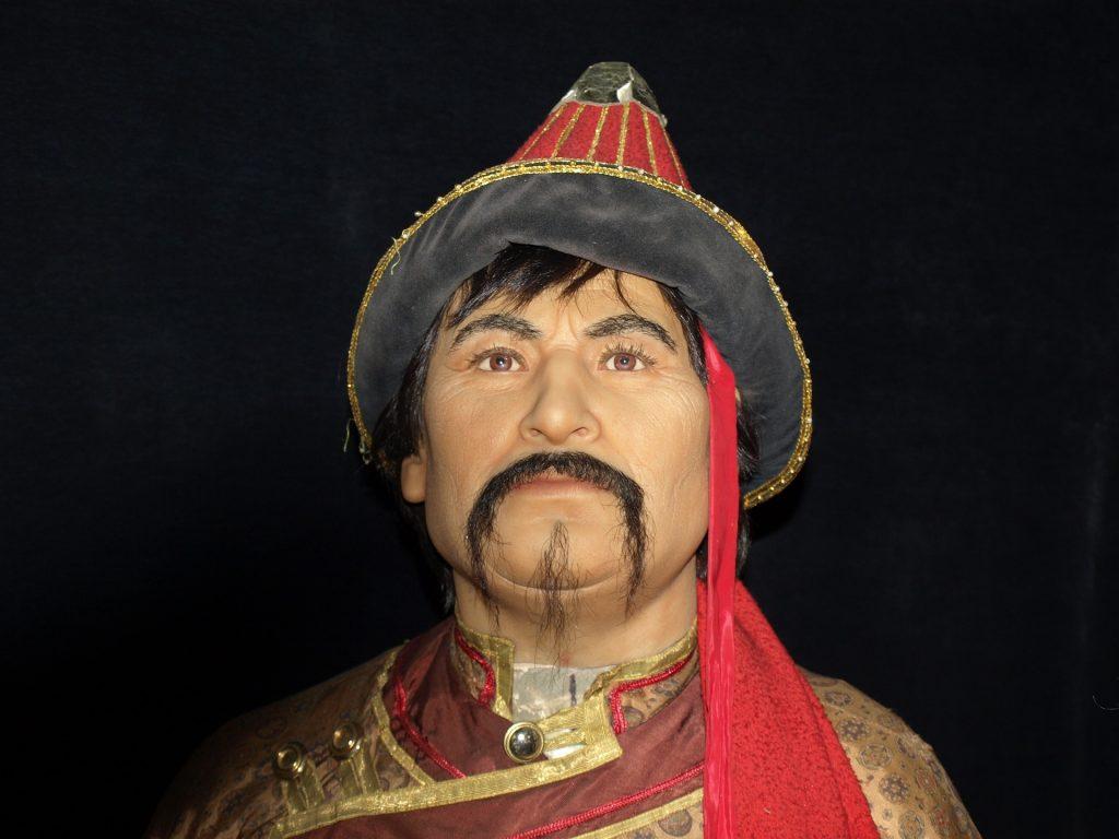 genghis-khan-wax-figure