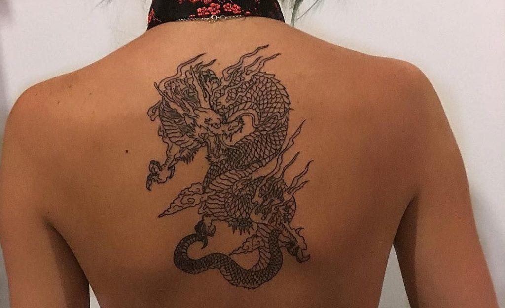 womans-back-dragon-tattoo