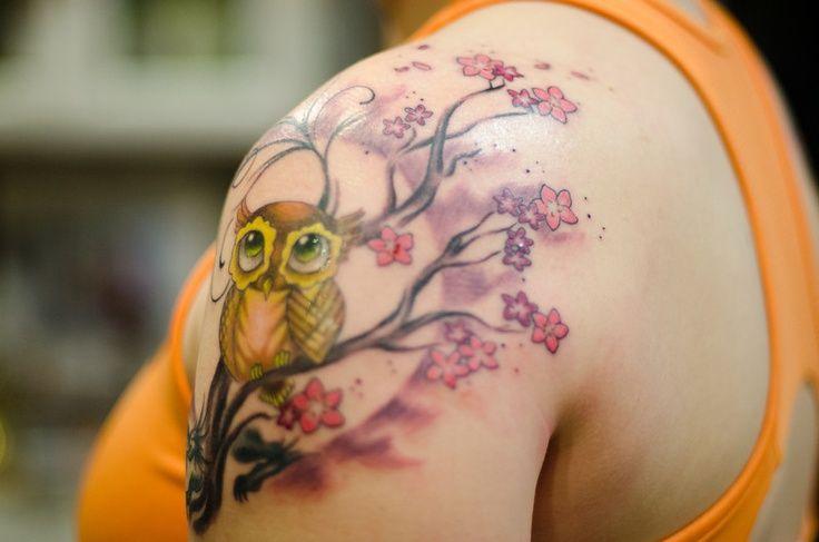 cherry-blossom-shoulder-tattoo
