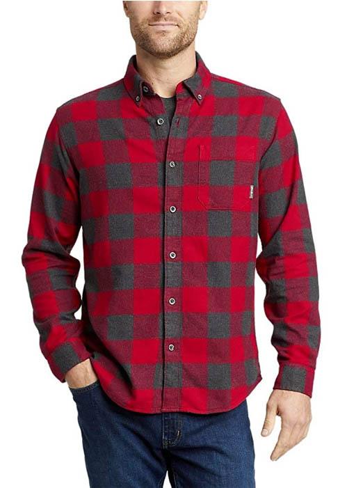 Eddies Favorite Flannel Classic Fit Shirt - Plaid