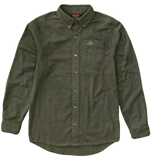 Mossy Oak Mens Soft Flannel Shirt