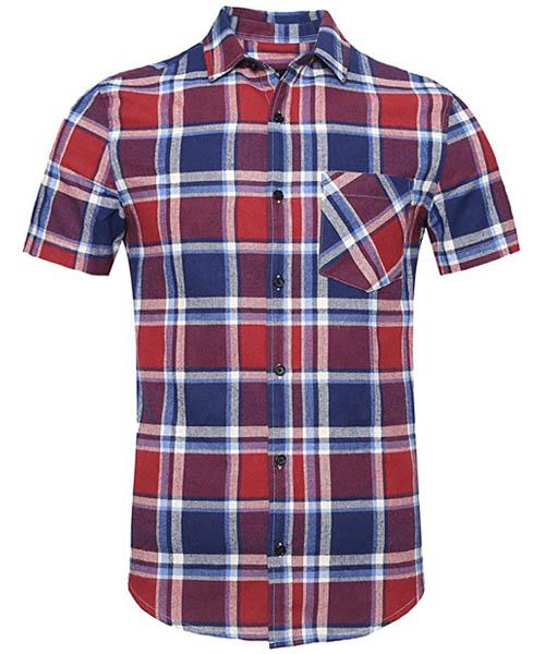 NUTEXROL Mens Flannel Shirt