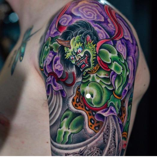 japanese-style-tattoo-god
