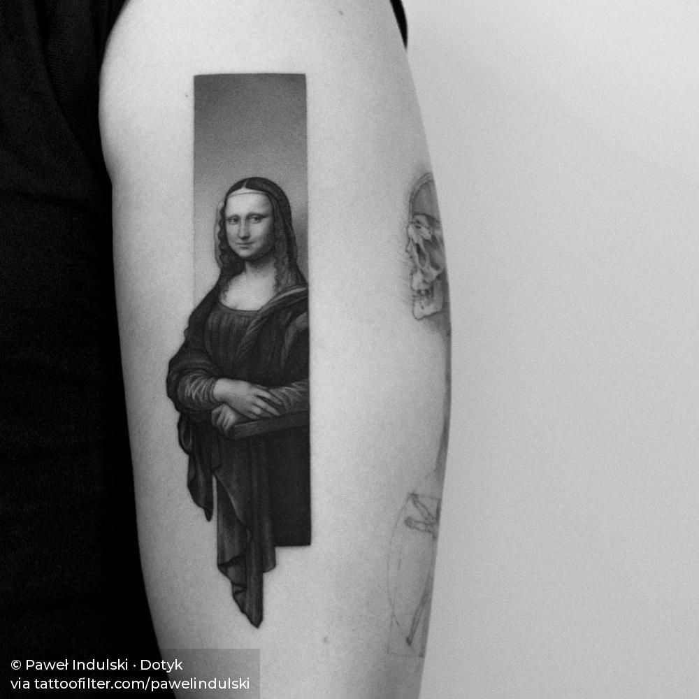 Mona Lisa tattoo